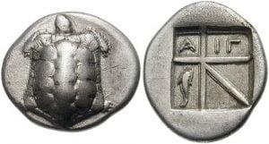 relief mata uang logam