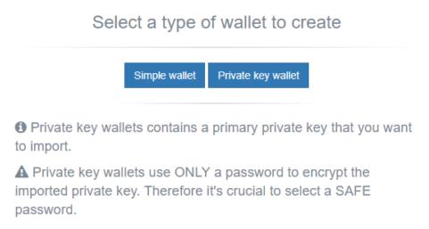 new nem-wallet