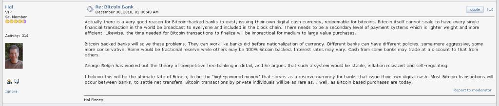 Hal Finney Tentang Bitcoin